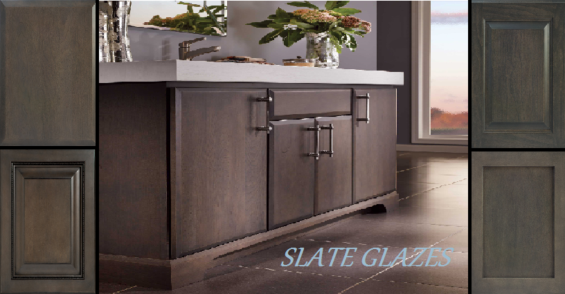 Fieldstone Cabinetry Is Now Offering A Slate Finish For Its Solid Wood  Cabinetry. This Beautiful Finish Is A Deep Gray Green. Slate Brings To Mind  Smoke ...